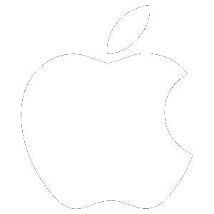 Apple icon (white)