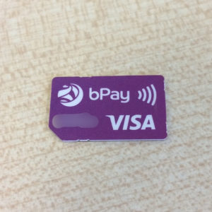 Payment micro-card
